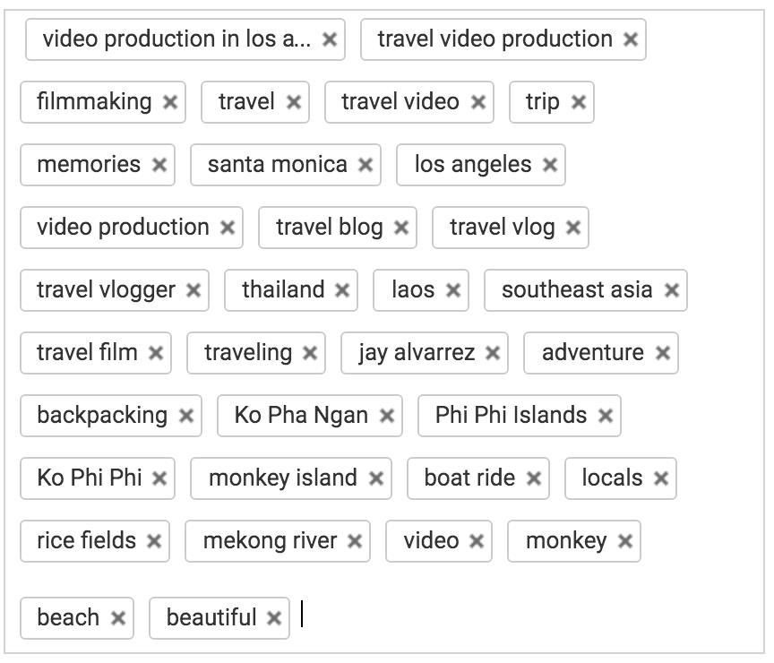 تگ یوتیوب