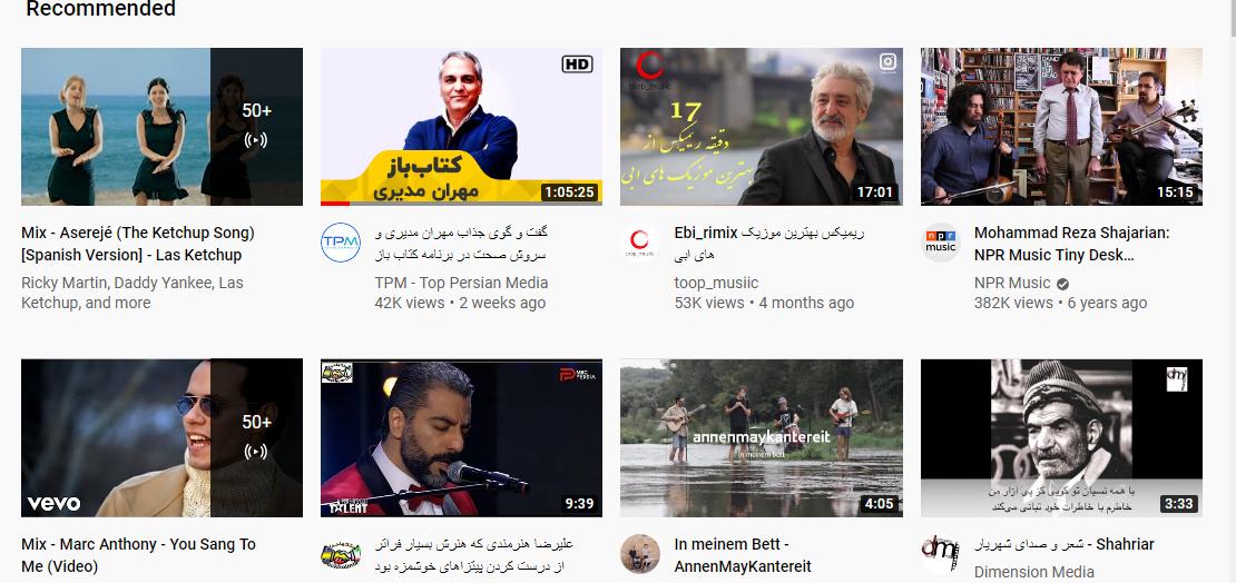 عکس یوتیوب افزایش بازدید